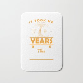 It Took Me 70 Years To Look This Good 70th Birthday Bath Mat