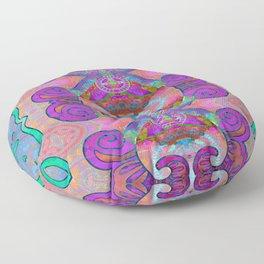 Pineal Art Flourish 1 Floor Pillow