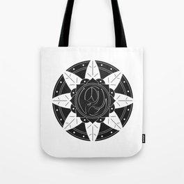 Mandala - B&W Tote Bag