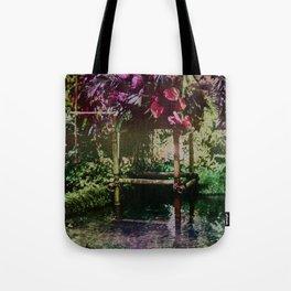 Tropical Pool Garden Tote Bag