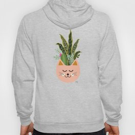 Cats and Plants Hoody