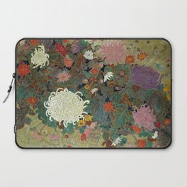 flower【Japanese painting】 Laptop Sleeve