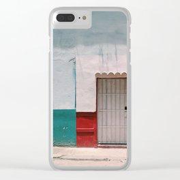 Walls in Havana Clear iPhone Case