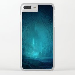 The Ice Cave Clear iPhone Case