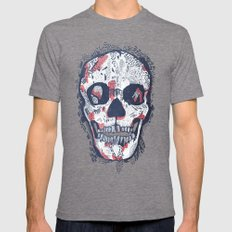 Scars Tri-Grey Mens Fitted Tee LARGE