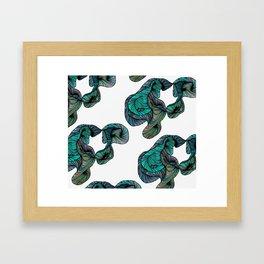 abstract digital 2.0 Framed Art Print