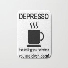 Depresso Bath Mat