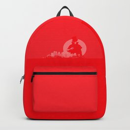 Jack The Ripper Red Background Backpack
