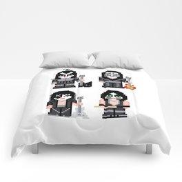 Pixel Kiss Comforters