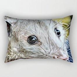 Impressive Animal - cute possum Rectangular Pillow