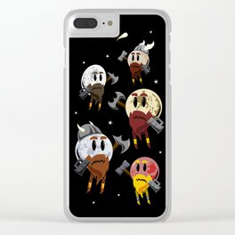 Dwarf Planets Clear iPhone Case