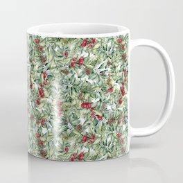 Watercolor winter berries Coffee Mug