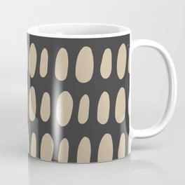 Brush Strokes Gold Coffee Mug