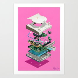 Assembly Required 13 Art Print