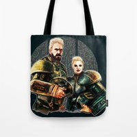pacific rim Tote Bags featuring pacific rim by chazstity