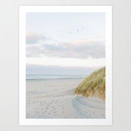 Dunes of Ameland, Holland | Dutch Coastline | Fine Art Travel Photography  Art Print
