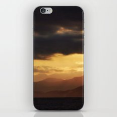 Pacific Mountains Sunrise iPhone & iPod Skin