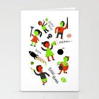revolution Stationery Cards featuring revolution  by Hadar Geva