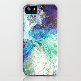 Falling Polish iPhone Case