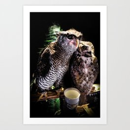 Avian Allies Art Print