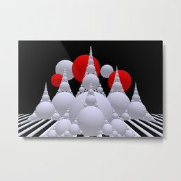 Apollonian geometry -1- Metal Print