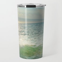Pā'ako Beach Iridescence Travel Mug