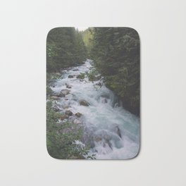 Nooksack River - Pacific Northwest Bath Mat