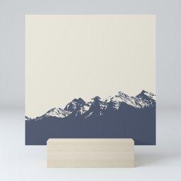 Canadian Rockies. Mini Art Print