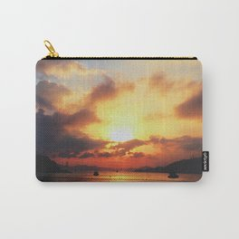 Sunset; Cloud Explosion Carry-All Pouch