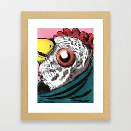 Morir también es ley de vida Framed Art Print