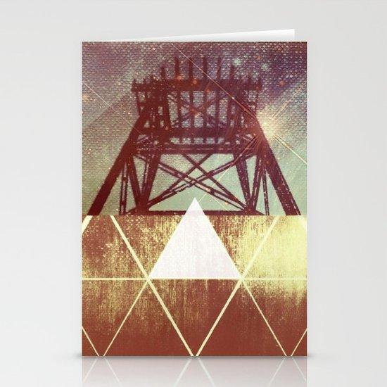 Elemental Framework Stationery Cards