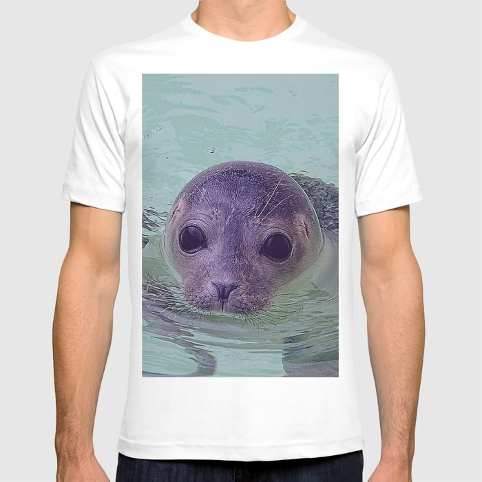 Cute Baby Seal 1217 T-shirt