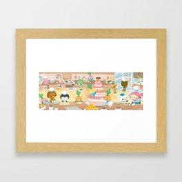 The Octonauts Vegimal Kitchen Framed Art Print