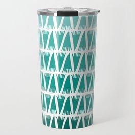 Tee Pee Green Gradient Travel Mug