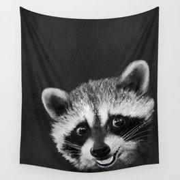 Raccoon Wall Tapestry