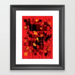 Abstract Composition #4 Framed Art Print
