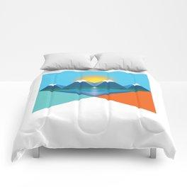 Colorado Illustration Comforters