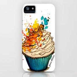 Cup Cake Grafite iPhone Case