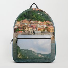 Bellagio in Lake Como Italy Backpack