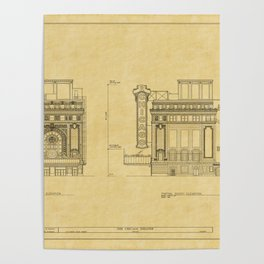 Chicago Theatre Blueprint 2 Poster