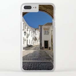 The old town Faro, Algarve, Portugal Clear iPhone Case
