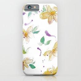 blazz studios: Spring Flowers iPhone Case