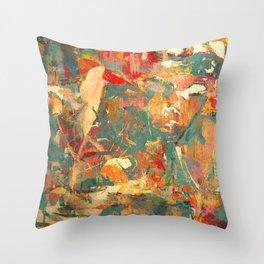 Piccolo Uccello in Fitto Bosco Throw Pillow