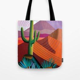Thunderhead Builds in Arizona Desert Tote Bag