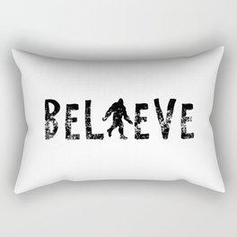 I Believe Yeti Bigfoot Sasquatch Rectangular Pillow