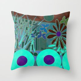 To Two Throw Pillow