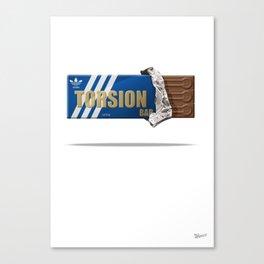 Torsion Chocolate Bar Canvas Print