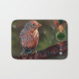 Wander Bird Bath Mat