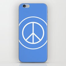 WORLD PEACE iPhone & iPod Skin