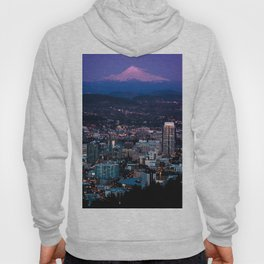 A city and its Mountain. Hoody